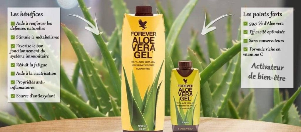 Forever les benefices 1 Aloe Vera by Forever