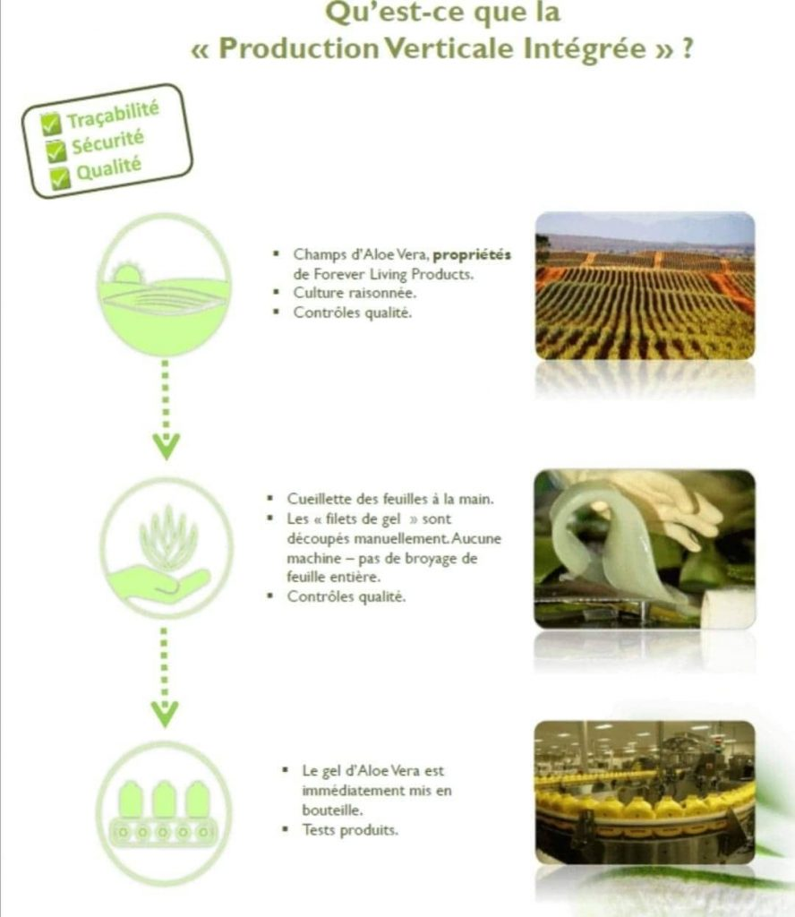 production verticale integres 2 Aloe Vera by Forever