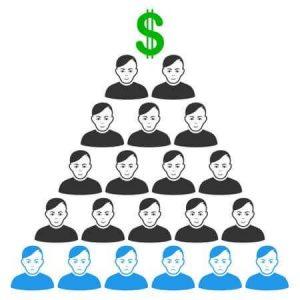 MLM VS système pyramidal